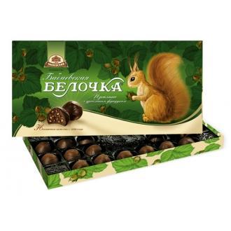 Белочка Бабаевская 400г*8 набор конфет