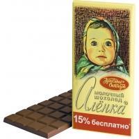 Алёнка 200г*18  Молочный шоколад