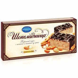 Торт Шоколадница с миндалем 270г*20