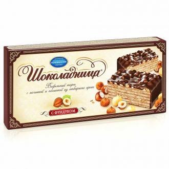 Торт Шоколадница с фундуком 270г*20