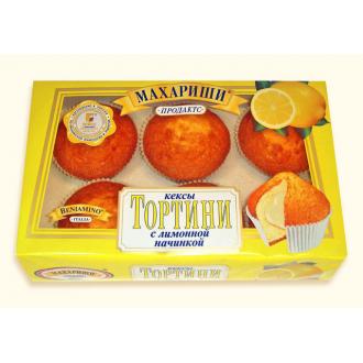 Тортини Кексы 200г*16 лимон