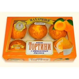 Тортини Кексы 200г*16 абрикос