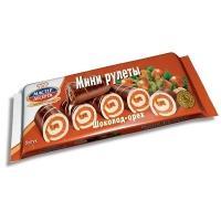 Мини-рулеты 'Мастер Десерта ' Шоколад-орех 175г*15
