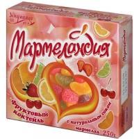 Мармеландия 250г*18 Фруктовый коктейль