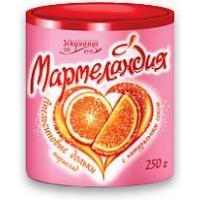 Мармеландия 250г*12 Апельсиновые дольки