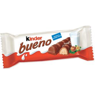 Киндер БуэноТ2 вафли в молочном шоколаде 43г*30