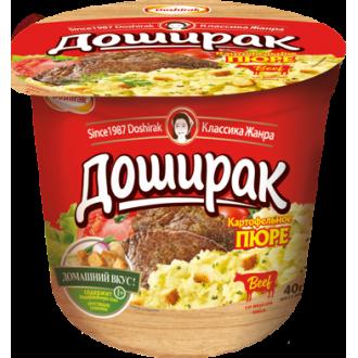 Пюре -Доширак 40г*24 со вкусом говядины