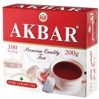 Акбар чай 100 пак.с/я*2г*(12) Red&White