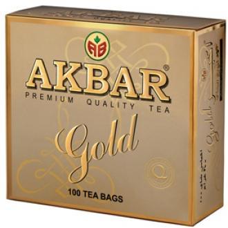 Акбар чай 100 пак.с/я*2г*(12) Золотой