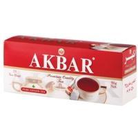Акбар чай 25 пак.с/я*2г*(24) Red&White