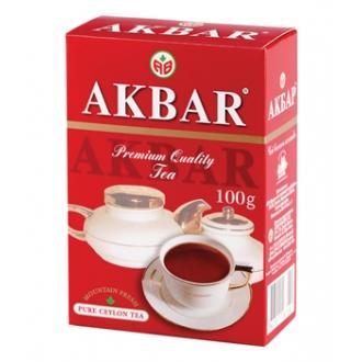 Акбар чай  100г*24 Red&White