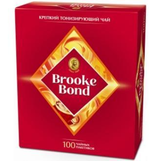 Брук Бонд чай 100пак.*2г*(12) - черный байховый