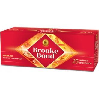 Брук Бонд чай 25пак.*1,8г*(24)- черный байховый