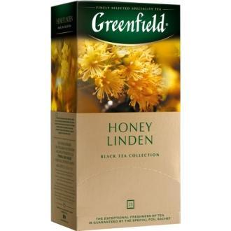 Гринфилд чай 25пак*1,5г*(10) Хани Линден /мед/липа