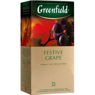 Гринфилд чай 25пак*2г*(10) Фестив Грейп ...