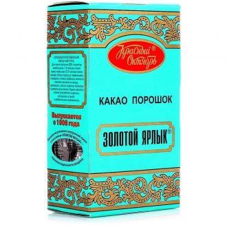 Золотой Ярлык какао порошок 100г*18