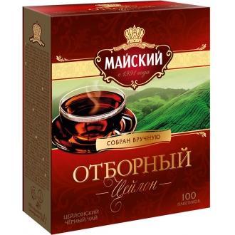 Майский чай 100 пак*2 г*(6) Отборный