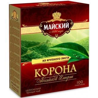 Майский чай 100 пак*2 г*(6) Корона Росси...