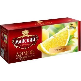 Майский чай 25 пак*1,5 г*(27) Лимон