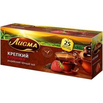 Лисма чай 25 пак*1,5 г*(27) Клубника