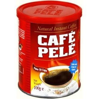 Пеле Кофе ж/б 100 г*24 - растворимый пор...