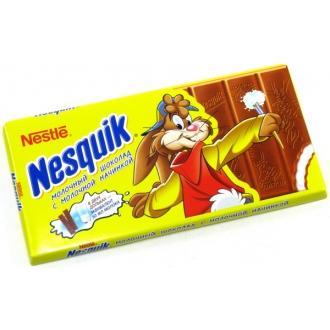 Несквик шоколад с молочной  начинкой 100г*20