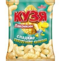 Кузя Лакомкин 140г*12 - палочки сладкие кукурузные