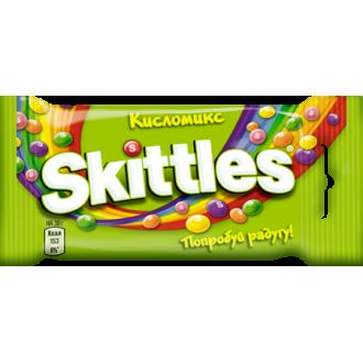 """Скитлс""""Кисломикс""""38гх12шт*(12бл) - драже в сахарной глазури"""