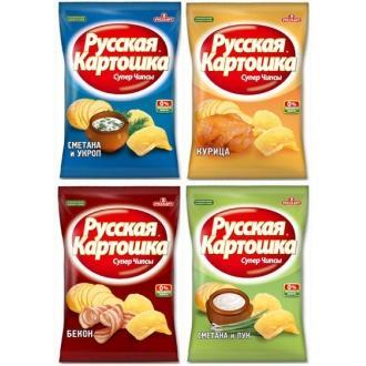 Русская картошка 20 г*56 Ассорти