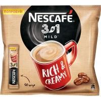 Нескафе 3в1 'Мягкое ' 14,5г*20 х20 кофе со сливками