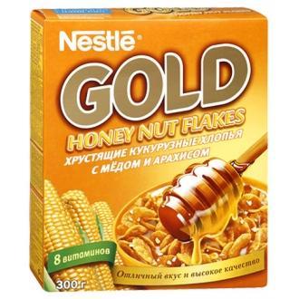 Голд Мёд/Орех  кукрузные хлопья  300г*16...