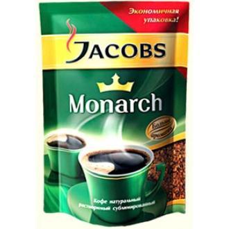 Якобс Монарх  кофе ПАКЕТ  75г*15 КЛАССИКА