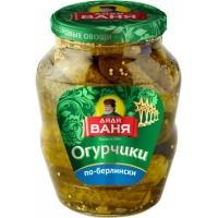 Огурцы Дядя Ваня  680 гр*8 По-Берлински