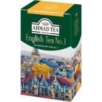 Ахмад чай 100г*12 Английский  №1 /желтая полоса/