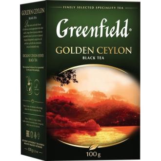 Гринфилд чай 100г*14 Голден Цейлон черны...