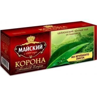 Майский чай 25 пак*2г*(27) Корона Россий...