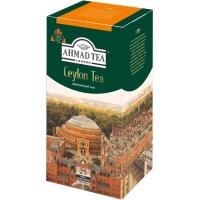 Ахмад 25 пак.*(12) Цейлонский чай/оранжевая полоса/