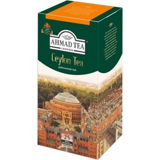Ахмад 25 пак.*(12) Цейлонский чай/оранже...