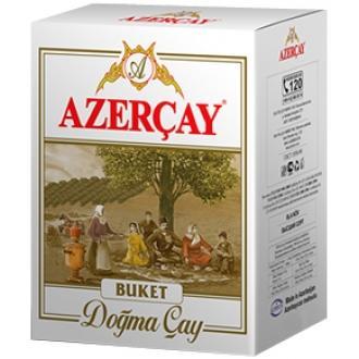 Азерчай 200г*30 Букет черный крупнолистовой (коробка)