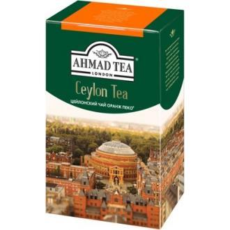 Ахмад чай 200г*12 ОР цейлон крупный лист