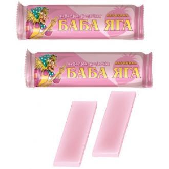 Жевательная конфета  'Баба-яга 'клубника...
