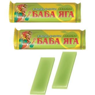 Жевательная конфета  'Баба-яга 'яблоко 1...