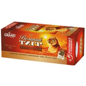 """Гранд чай """"Великий тигр""""25 пак.*1,8г*(32) - черный"""