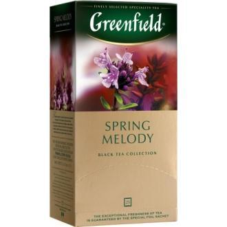 Гринфилд чай 25пак*1,5г*(10) Спринг Мело...