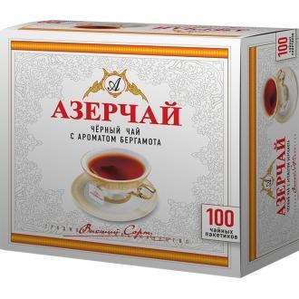 Азерчай  100 пак*2г*(12) Бергамот