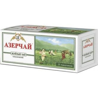 Азерчай  25 пак*2г*(24) Зеленый с чабрецом