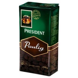 Паулиг Президент кофе МОЛОТОЕ  250г*12