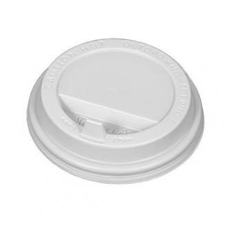 Крышка для стакана d 80 мм (1000) белая ...