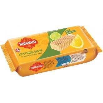 Вафли Яшкино 300г*15 Лимон-Лайм
