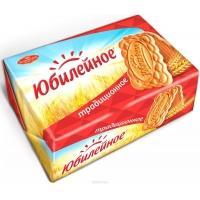 Юбилейное  печенье 134г*30 Традиционное в бумаге